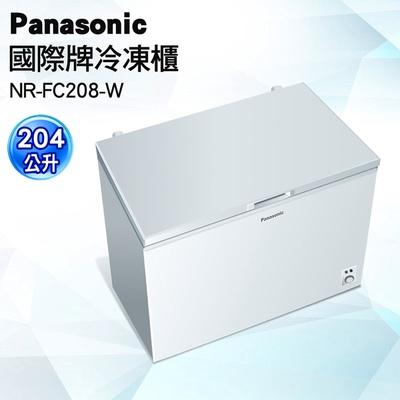 【Panasonic 國際牌】204公升上掀式冷凍櫃(NR-FC208)