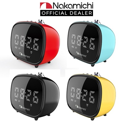 Nakamichi | CRK3 Bluetooth Clock Radio Alarm Speaker