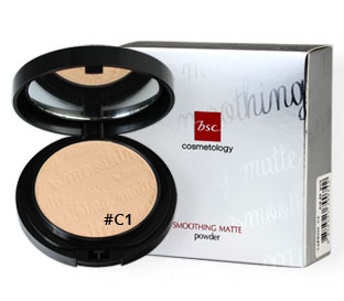 BSC | แป้งผสมรองพื้น สูตร Oil Free BSC Smoothing Matte Powder C1/C2/C3