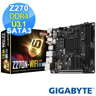 【GIGABYTE技嘉】GA-Z270N-WIFI主機板