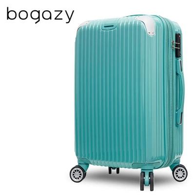 【Bogazy】冰封行者 24吋PC可加大鏡面行李箱