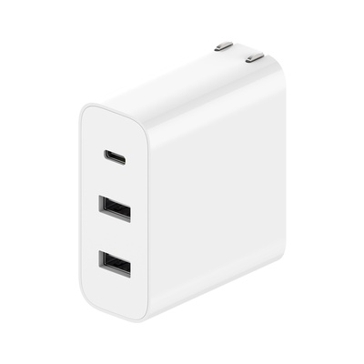 Xiaomi | Fast USB Charger 65W (2A1C) Power Adapter With Foldable Plug