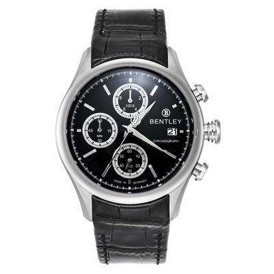【Bentley 賓利】Bourbon系列 計時手錶