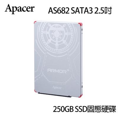 【Apacer 宇瞻】盔甲二代 AS682 SATA3 2.5吋 (SSD 固態硬碟)
