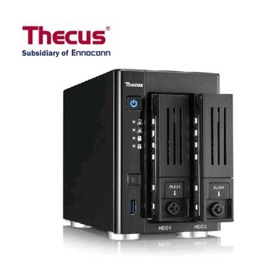【Thecus 色卡司】N2810Plus 網路儲存伺服器
