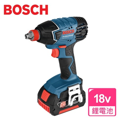 【BOSCH博世】18V 鋰電衝擊扳手/起子機(GDX 18 V-Li)