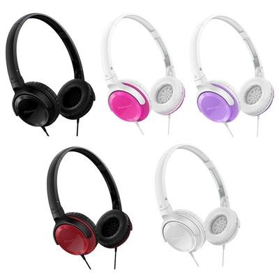 【Pioneer】輕巧頭戴式耳機(SE-MJ502)