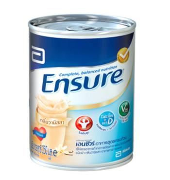 Ensure | อาหารเสริมสูตรครบถ้วนชนิดน้ำ กลิ่นวานิลลา Ensure Complete And Balanced Nutrition Liquid Vanilla