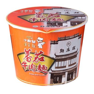 【小廚師】蕃茄牛肉麵 295g/桶