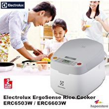 Electrolux ERC6603W Microcomputer Rice Cooker