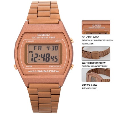 Casio | B640WC-5A Stainless Steel Band Women Watch
