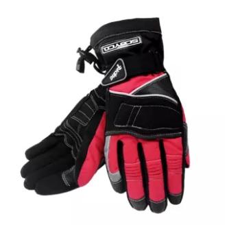 SCOYCO   ถุงมือรถจักรยานยนต์อบอุ่นฤดูหนาวกันน้ำ Windproof กีฬาถุงมือแข่งรถมอเตอร์อุปกรณ์ป้องกัน MC15