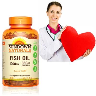 美國Sundown日落恩賜 天然精萃深海魚油