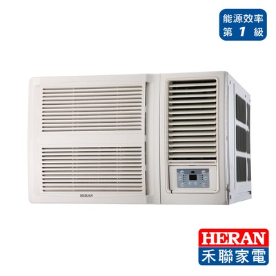 【HERAN 禾聯】11-13坪 R32窗型一級能效變頻冷專空調(HW-GL63C)
