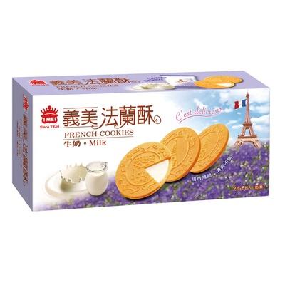 【義美】法蘭酥-牛奶