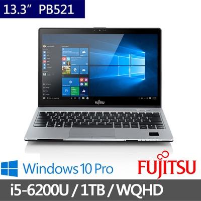 FUJITSU富士通 13.3吋頂級日製筆電  i5-6200U/8G/1TB (S936-PB521)