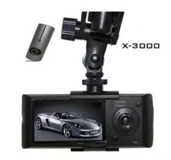 WinTop HD 5 Megapixels Dual Lens Car DVR X3000
