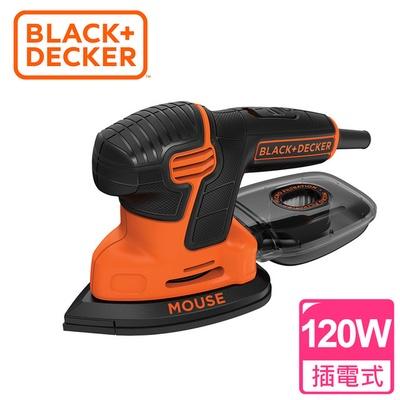 【BLACK&DECKER 百工】吸塵式砂磨機(KA2000)