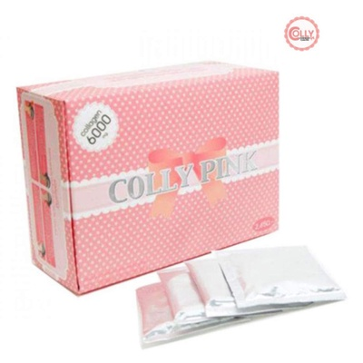 Colly Collagen | คอลลาเจนแท้ COLLY PINK 6000 mg.
