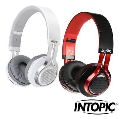 【INTOPIC 廣鼎】藍牙摺疊耳機麥克風(JAZZ-BT960)