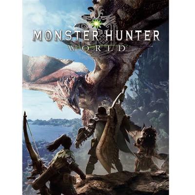 【魔物獵人-世界】PC版 實體光碟中文版