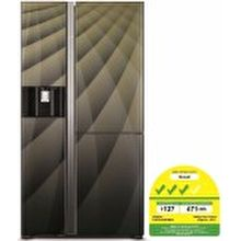 Hitachi R-M700AGP4MSX Side by Side Refrigerator