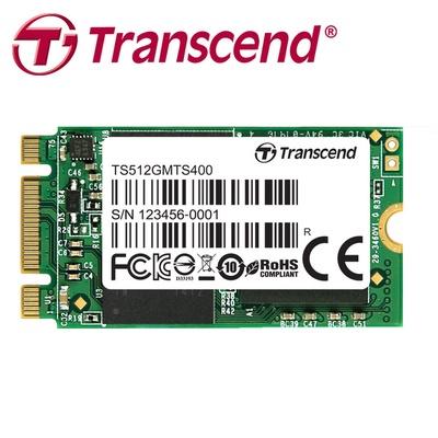 【Transcend 創見】MTS-400 M.2 2242 SATA SSD 固態硬碟