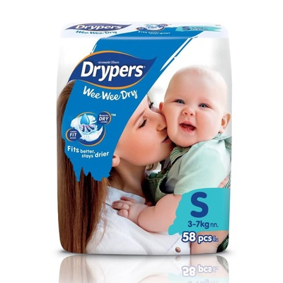 Drypers | Wee Wee Dry (Size S/82pc)