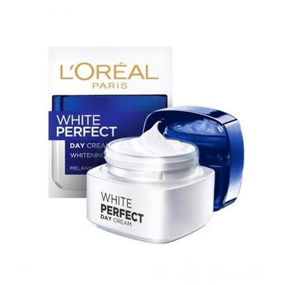 L'OREAL   WHITE PERFECT DAY CREAM SPF17 PA++ ลอรีอัล ปารีส ไวท์ เพอร์เฟ็คท์ ครีมบำรุงผิวหน้าสูตรกลางวัน