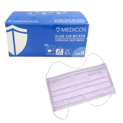 Medicos | Hijab Surgical Mask 3 ply (50pcs)