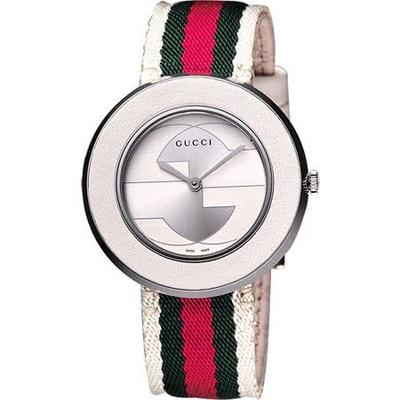 GUCCI 古馳  U-Play 系列 G&G 經典腕錶 YA129411
