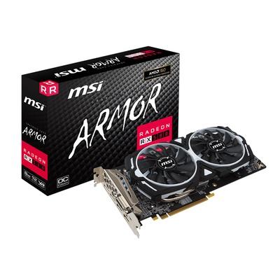 MSI Radeon RX 580 8GB GDDR5 Gaming Graphics Card