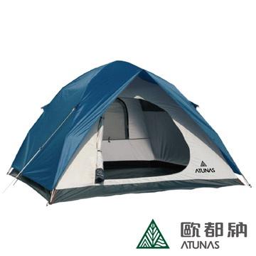 【ATUNAS 歐都納】4-5人單門3分鐘快速露營帳篷(A-TENT1402)