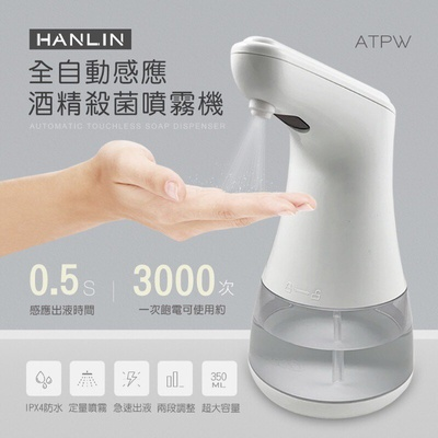 HANLIN | 全自動感應酒精殺菌淨手噴霧機