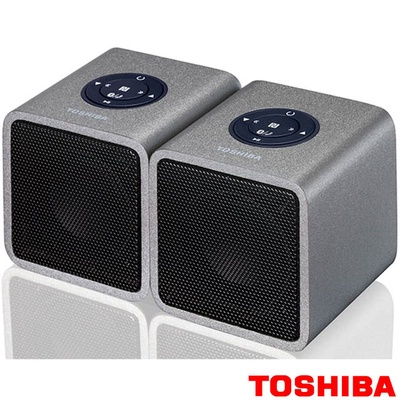 【TOSHIBA】雙聲道木質音箱藍芽喇叭(TY-WSP5TTW)