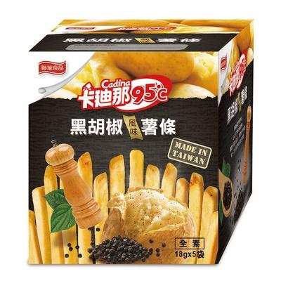 【卡迪那】95℃風味薯條-黑胡椒