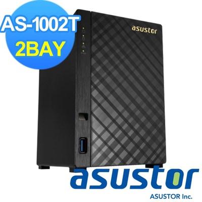 【ASUSTOR華芸】2Bay網路儲存伺服器(AS-1002T)
