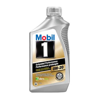 Mobil1   น้ำมันเครื่องสังเคราะห์แท้ Advanced Fuel Economy รุ่น 0W-20