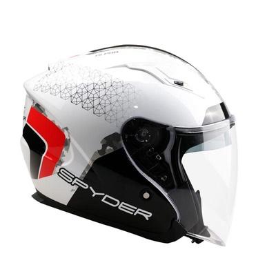 Spyder | Open-Face Helmet with Dual Visor (Alpha GD Series 3)