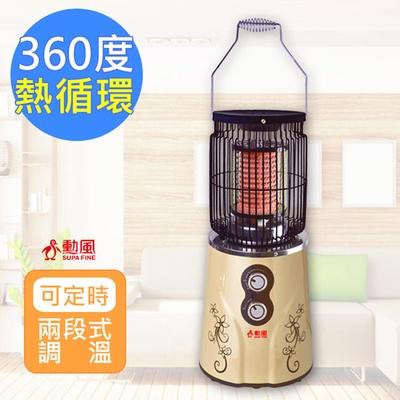 【勳風】暖爐式溫熱循環機/陶瓷電暖器 HF-O12H