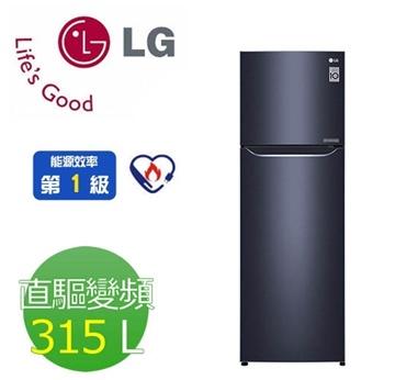 【LG 樂金】315公升變頻上下門冰箱(GN-L397C)