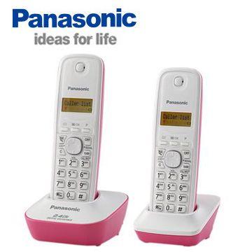 【Panasonic國際牌 2.4G】數位高頻雙手機無線電話KX-TG3412