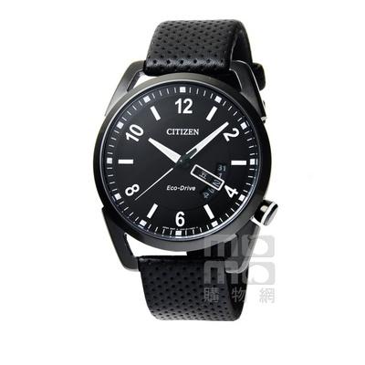 CITIZEN星辰 42mm 暗黑騎士光動能腕錶 AW0015-08E