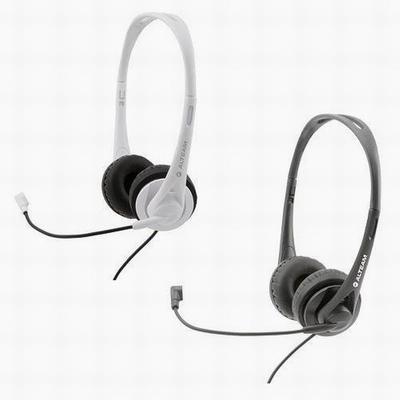 【ALTEAM】電腦用頭戴式雙插頭耳麥(AH-306M)