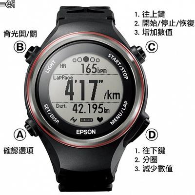 EPSON Runsense 專業鐵人運動錶SF-850