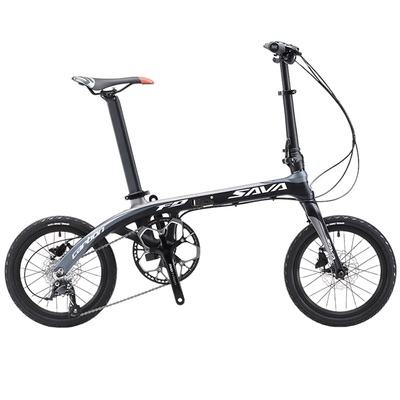 SAVA | Z2 Ultralight Carbon Fiber Folding Bike 16-inch