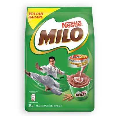 Nestle | Milo Activ-Go Chocolate Malt Powder Softpack  (2kg)