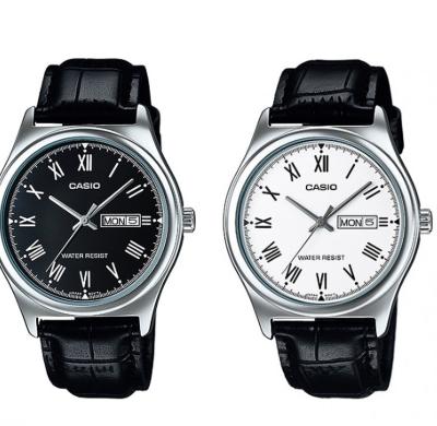 Casio | นาฬิกาข้อมือผู้ชาย รุ่น MTP-V006L สายหนัง