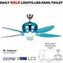 Fanco Ceiling Fan  Designer i-Colour 52-inch