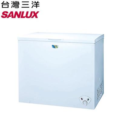 【SANLUX 台灣三洋】207公升冷凍櫃(SCF-207W)